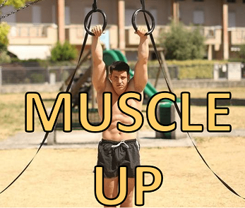 Muscle-up di Alessandro Mainente