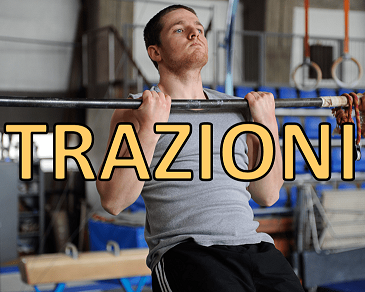Trazioni supine di Francesco Mainente