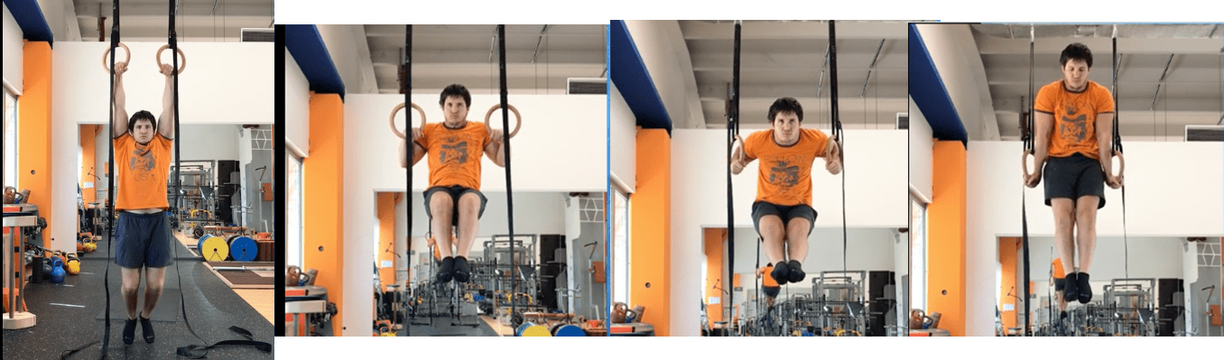 Esecuzione muscle-up
