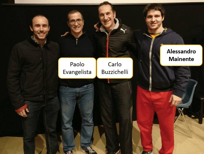 Paolo Evangelista, Carlo Buzzichelli, Alessandro Mainente, Giovanni Altomari