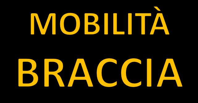 Mobilità e stretching braccia