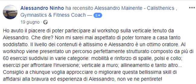 Alessandro Ninho - recensione