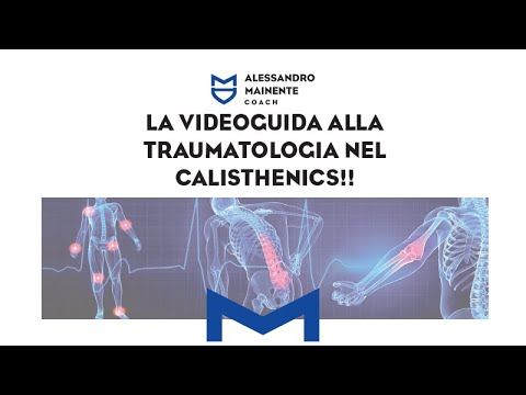 Traumatologia infortuni Calisthenics