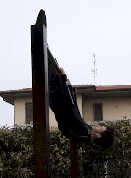 Giorgio Sangalli Front Lever